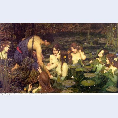 Hylas and the nymphs 1896 1