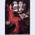 I am half sick of shadows said the lady of shalott 1915