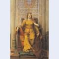 Portrait of queen d leonor