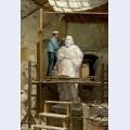 The atelier of the sculptor sim es de almeida