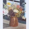 Vaso com flores na janela campos do jord o