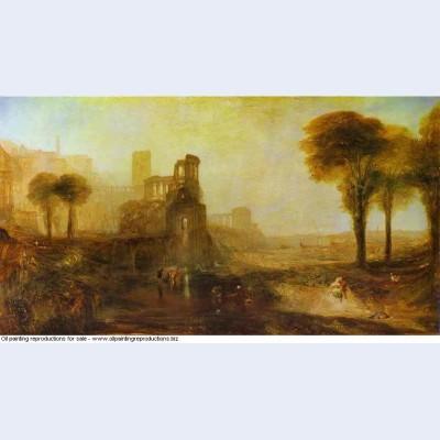 Caligula s palace and bridge