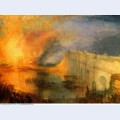 The burning of the houses of parliament 1