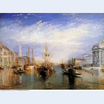 The grand canal venice engraved by william miller