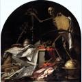 Allegory of death in ictu oculi
