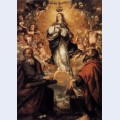 Virgin of the immaculate conception with sts andrew and john the baptist
