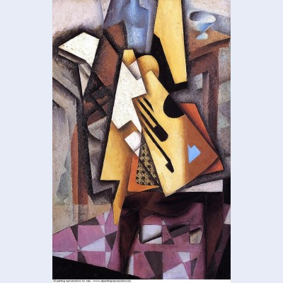 Guitar on a chair 1913