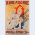 Moulin rouge paris cancan