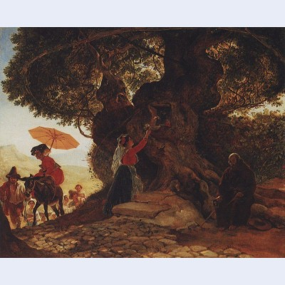 At the mother of god oak