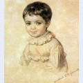Portrait of maria kikina as a child 2