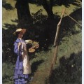 The woman painter