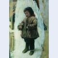 Child on the snow