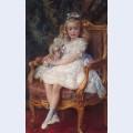 Portrait of grand princess maria nikolayevna