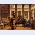 A roman art lover 1870
