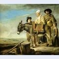 Family of milk seller