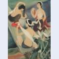 The three bathers