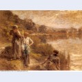 Washerwomen by the banks of the marne 2