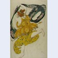 Boeotian drawing narcisse costume ballet diaghilev