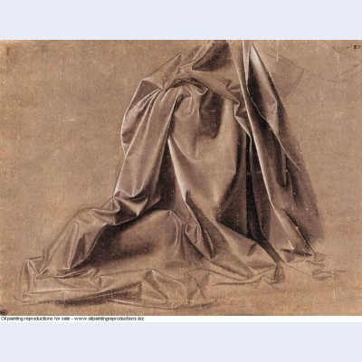 Drapery for a seated figure 1