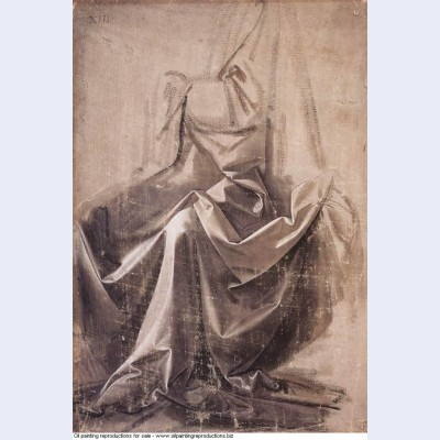 Drapery for a seated figure