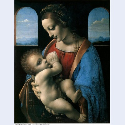 Madonna litta madonna and the child 1