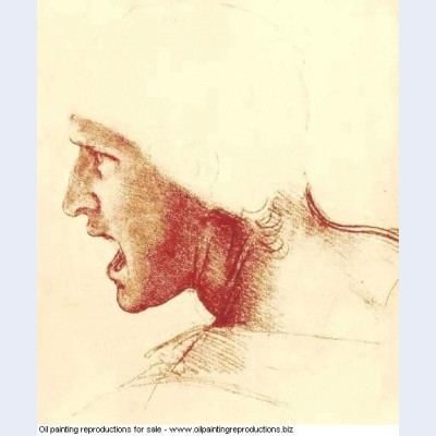 Study of a figure for the battle of anghiari