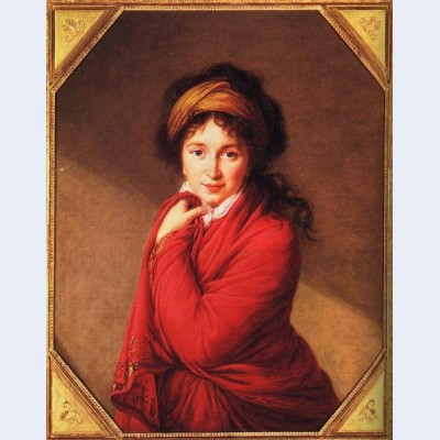 Portrait of countess golovine