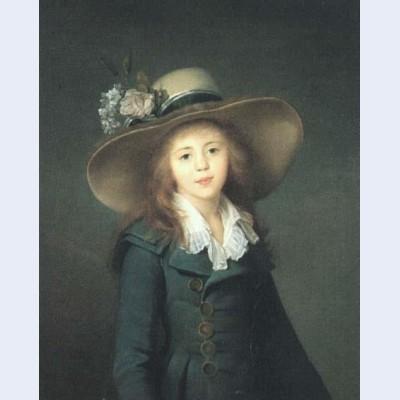 Portrait of elisaveta alexandrovna demidova nee stroganova