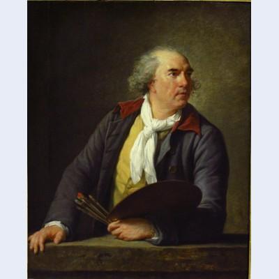 Portrait of hubert robert