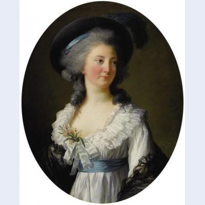 Portrait of izabela lubomirska