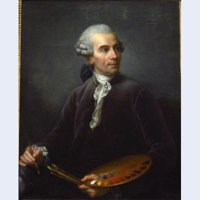 Portrait of joseph vernet