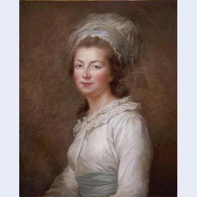 Portrait of lisabeth of france