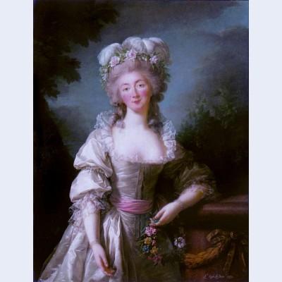 Portrait of madame du barry