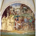 Life of st benedict benedict discovers totila s deceit