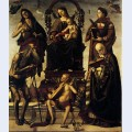 Madonna and child with saints 3