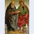 Saints eligius and antonio