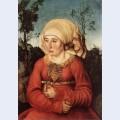 Portrait of frau reuss