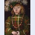 Portrait of johann friederich i the magnanimous elector of saxony