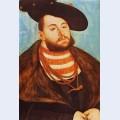 Portrait of johann friedrich elector of saxony