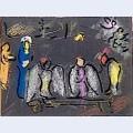 Abraham and three angels 2
