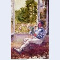 Man seated by a window 1907