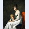 Madame jeanne desbassayns de richemont and her son eug ne