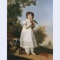 Portrait of napoleona elisa baciocchi
