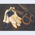 Gardener s gloves and shears