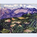 Purple mountains vence