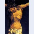 Christ on the cross detail from the central crucifixion panel of the isenheim altarpiece
