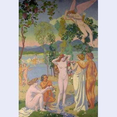 Eros is struck by psyche s beauty