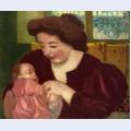 Maternite anne marie et marthe a la bague ovale