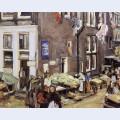 Jewish quarter in amsterdam
