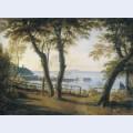 Italian seaside landscape